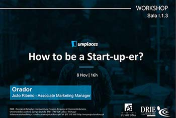 Workshop How to be a good Start-up-er