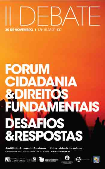 II Debate do Forum Cidadania e Direitos Fundamentais