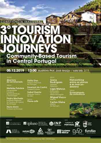 Conferência Inaugural do 3.º Tourism Innovation Journeys